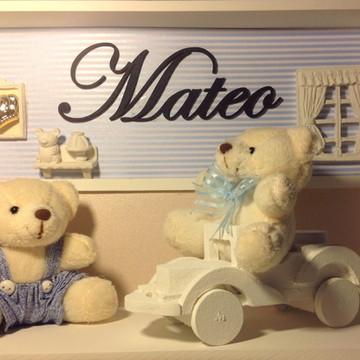 QUADRO MATERNIDADE - Mateo Quarto Urso