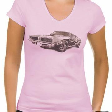 "Camiseta ou baby look ""Carro"""