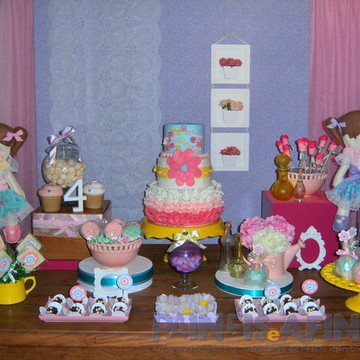 Decor Festa Infantil Bonecas