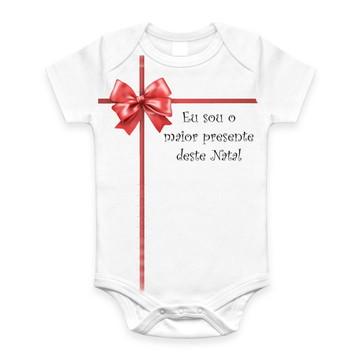 Body p/ Bebê Sou o Presente