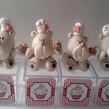 lembrancinhas urso confeiteiro - festa confeitaria