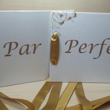 Placa Cadeira dos noivos