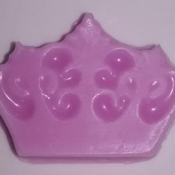 Lembrancinha sabonete coroa rainha