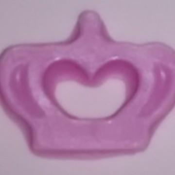 Lembrancinha sabonete coroa princesa