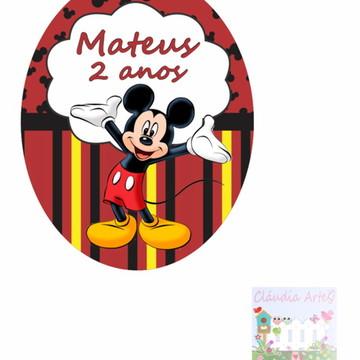 Adesivo tubete Mickey
