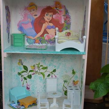 Casa de bonecas Pequena Sereia