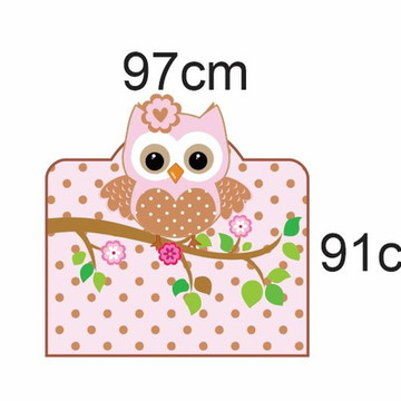 Adesivo cabeceira cama corujinha