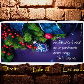Caneca Natal Azul