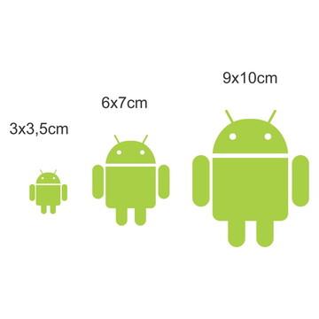 326707a65 3x Adesivo Google Android 3 Tamanhos Cel