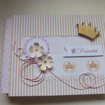 Álbum Primeiras Visitas Princesa