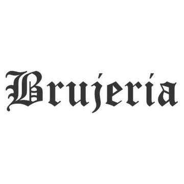 Adesivo rock heavy metal Brujeria