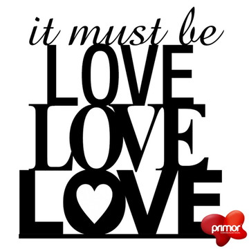 Topo de Bolo Acrílico LOVE