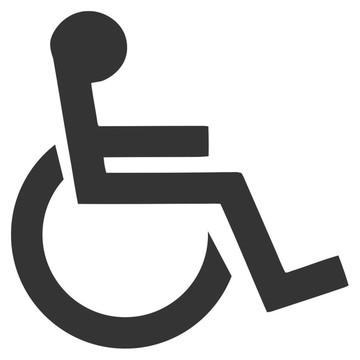 Adesivos Cadeirante Bar Loja