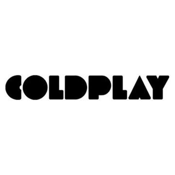 Adesivo rock heavy metal Coldplay