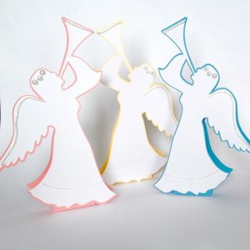Anjo para decoração da mesa de convidado