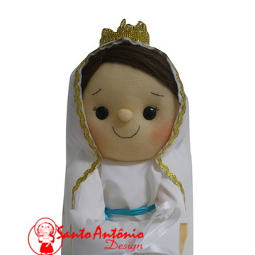 Boneca Nossa Senhora de Lourdes