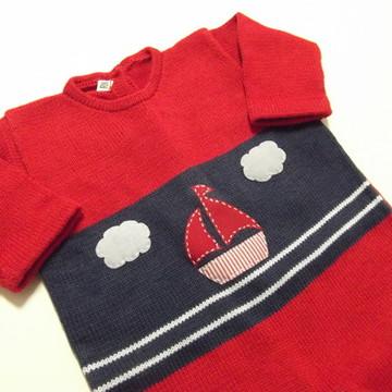 Saída Maternidade Barco Vermelho