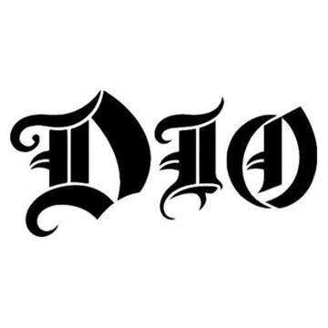 Adesivo rock heavy metal Dio
