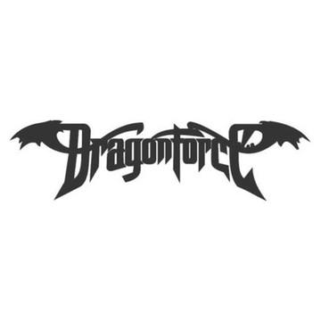 Adesivo rock heavy metal Dragonforce