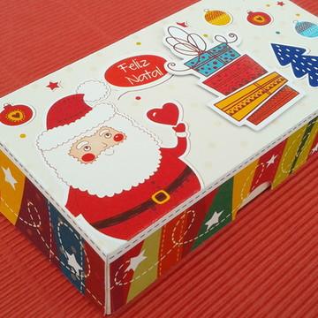 Caixa Natal brownies, pão de mel, etc.