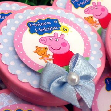 Rótulo Latinha Peppa Pig