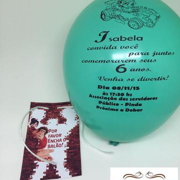 Convite Bexiga