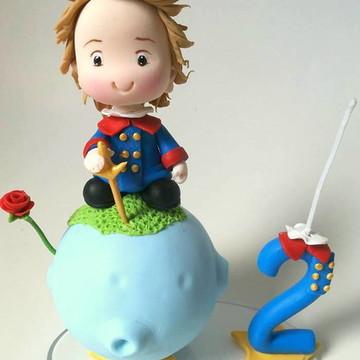 Topo de bolo do pequeno principe