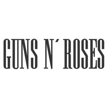 Adesivo rock heavy metal Guns N´Roses