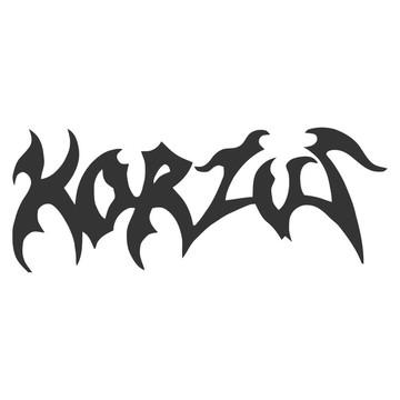 Adesivo rock heavy metal Korzus