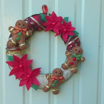Guirlanda de Natal Gingerbread