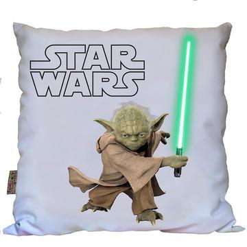 Almofada Star Wars 2 Mestre Yoda