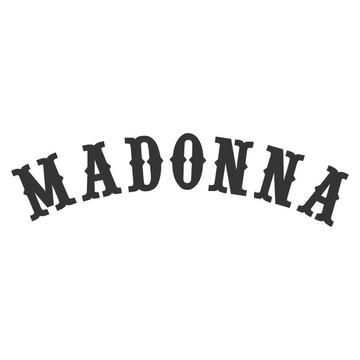 Adesivo rock heavy metal Madona