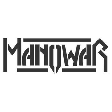 Adesivo rock heavy metal Manowar