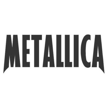 Adesivo rock heavy metal Metallica