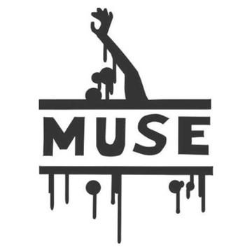 Adesivo rock heavy metal Muse