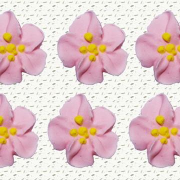 Flor de açúcar- Flor de maçã