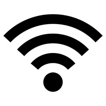 3x Adesivo wifi Wi-fi