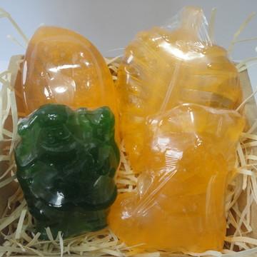 Kit 4 sabonetes Natal