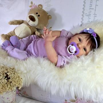 Bebê Reborn Larissa 2015, ADOTADA!!
