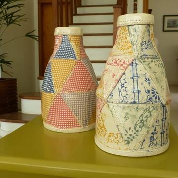 Garrafa/Moringa patchwork