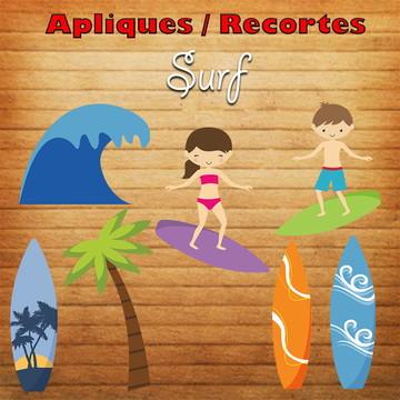 Aplique / Recortes - Surf