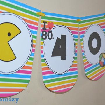 Bandeirolas Anos 80
