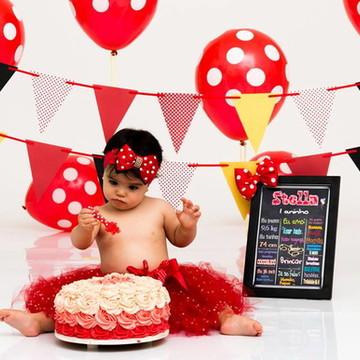 Conjunto Smash The Cake Minei