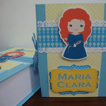 Álbum com Caixa / Merida