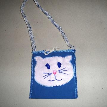 bolsa infantil gatinho