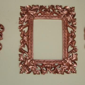 Molduras com Espelho Rosé