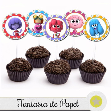 TOPPER PARA DOCE JELLY JAMM