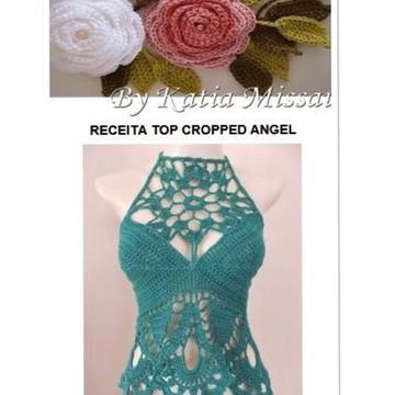 Receita Top Cropped Angel DIGITAL