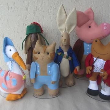 peter rabbit e sua turma