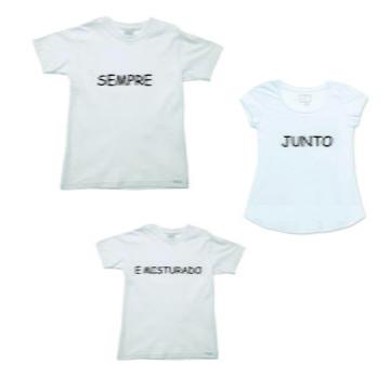 Camisetas Personalizadas para a Familia